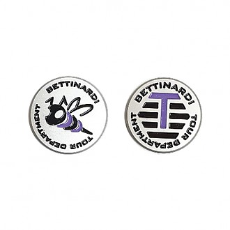 TOUR STINGER BEE PURPLE BALL MARKER
